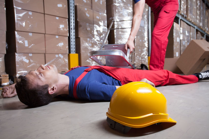 30793504 – accident during work at height in factory
